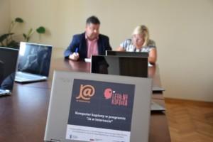 Skaryszew – przekazanie komputerów 06.08.2019 r.