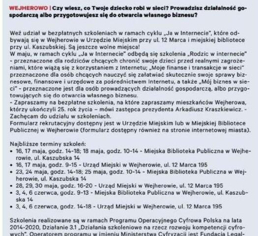 EXPRESS POWIATU WEJHEROWSKIEGO str 8