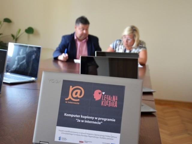Skaryszew - przekazanie komputerów 06.08.2019 r.