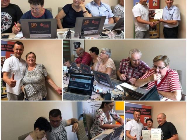 Skaryszew_Za nami kolejne szkolenia, tym razem grupy szkoliły się z Tematu Moje finanse i transakcje w sieci i Mój biznes w sieci