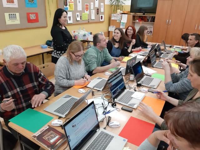Skaryszew_w szkole w Makowcu zakończyło się kolejne szkolenie Kultura w sieci2
